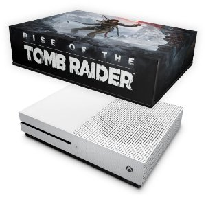 Xbox One Slim Capa Anti Poeira - Rise of the Tomb Raider
