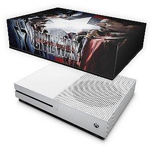 Xbox One Slim Capa Anti Poeira - Capitão America - Guerra Civil