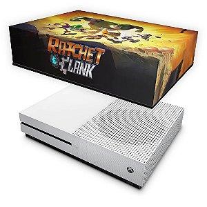 Xbox One Slim Capa Anti Poeira - Ratchet and Clank