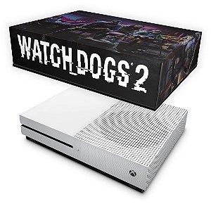 Xbox One Slim Capa Anti Poeira - Watch Dogs 2