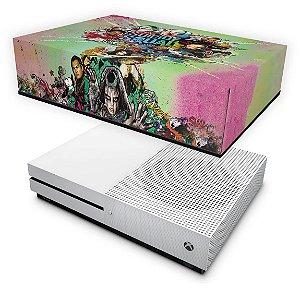Xbox One Slim Capa Anti Poeira - Esquadrão Suicida #B