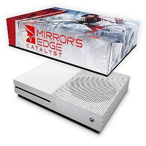 Xbox One Slim Capa Anti Poeira - Mirror's Edge Catalyst