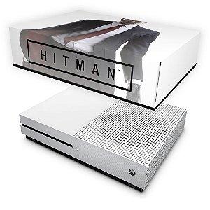 Xbox One Slim Capa Anti Poeira - Hitman 2016