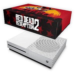Xbox One Slim Capa Anti Poeira - Red Dead Redemption 2