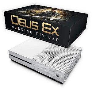 Xbox One Slim Capa Anti Poeira - Deus Ex: Mankind Divided