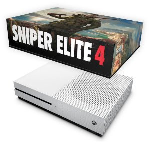 Xbox One Slim Capa Anti Poeira - Sniper Elite 4