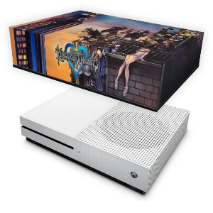 Xbox One Slim Capa Anti Poeira - Kingdom Hearts