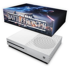 Xbox One Slim Capa Anti Poeira - Star Wars - Battlefront 2