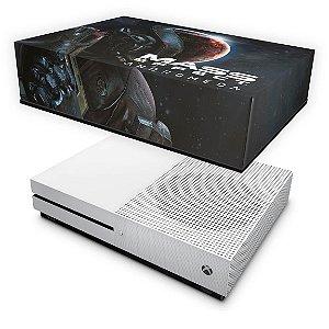 Xbox One Slim Capa Anti Poeira - Mass Effect: Andromeda