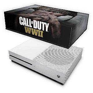Xbox One Slim Capa Anti Poeira - Call of Duty WW2