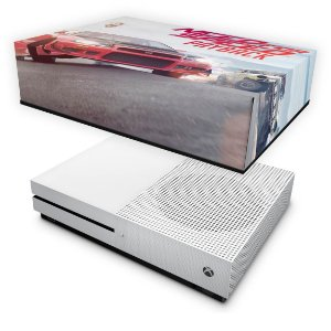 Xbox One Slim Capa Anti Poeira - Need For Speed Payback