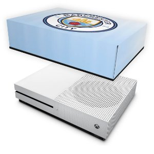 Xbox One Slim Capa Anti Poeira - Manchester City FC