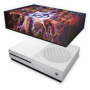 Xbox One Slim Capa Anti Poeira - Os Vingadores: Guerra Infinita