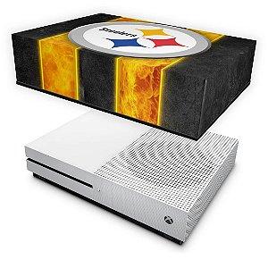 Xbox One S Slim Capa Anti Poeira - Pittsburgh Steelers - NFL