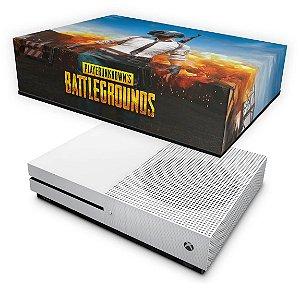 Xbox One Slim Capa Anti Poeira - Players Unknown Battlegrounds PUBG