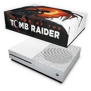 Xbox One Slim Capa Anti Poeira - Shadow Of The Tomb Raider