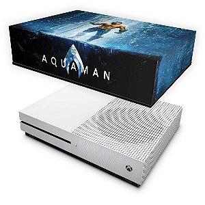 Xbox One Slim Capa Anti Poeira - Aquaman