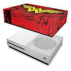 Xbox One Slim Capa Anti Poeira - Mulher Maravilha Comics