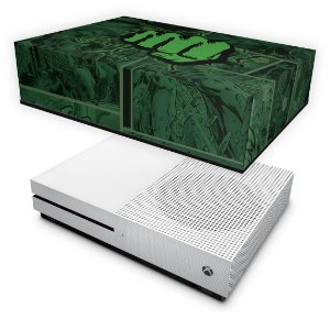 Xbox One Slim Capa Anti Poeira - Hulk Comics