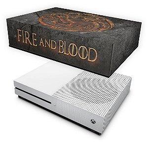 Xbox One Slim Capa Anti Poeira - Game of Thrones Targaryen
