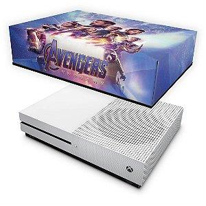 Xbox One Slim Capa Anti Poeira - Vingadores Ultimato Endgame