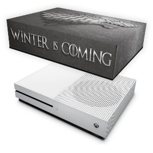Xbox One Slim Capa Anti Poeira - Game Of Thrones Stark