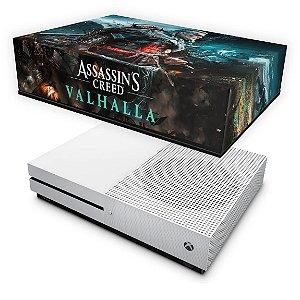 Xbox One S Slim Capa Anti Poeira - Assassin's Creed Valhalla
