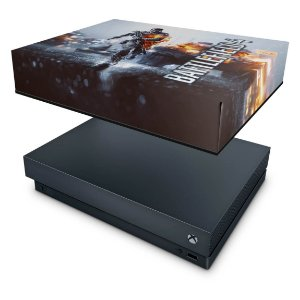 Xbox One X Capa Anti Poeira - Battlefield 4