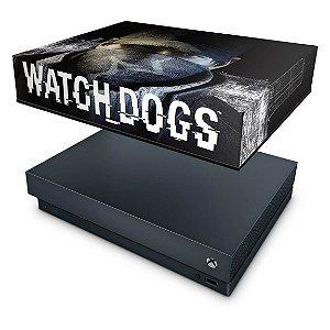 Xbox One X Capa Anti Poeira - Watch Dogs