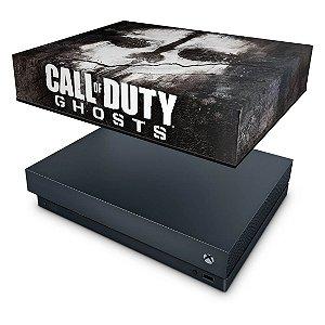 Xbox One X Capa Anti Poeira - Call of Duty Ghosts