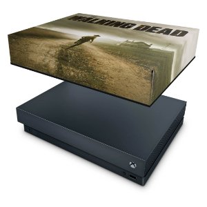 Xbox One X Capa Anti Poeira - The Walking Dead