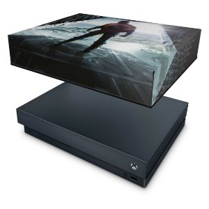 Xbox One X Capa Anti Poeira - Capitão America
