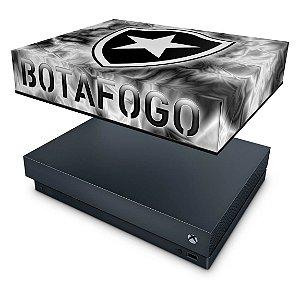 Xbox One X Capa Anti Poeira - Botafogo