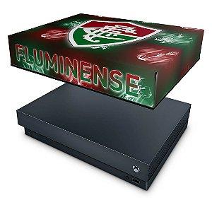 Xbox One X Capa Anti Poeira - Fluminense