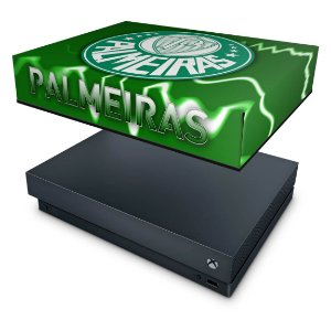 Xbox One X Capa Anti Poeira - Palmeiras