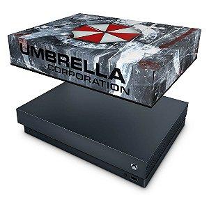 Xbox One X Capa Anti Poeira - Resident Evil