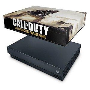 Xbox One X Capa Anti Poeira - Call of Duty Advanced Warfare