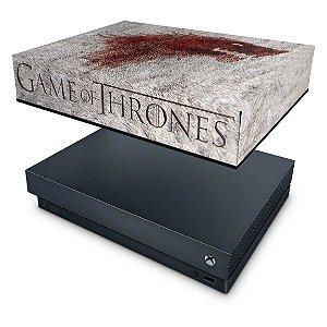 Xbox One X Capa Anti Poeira - Game of Thrones #A