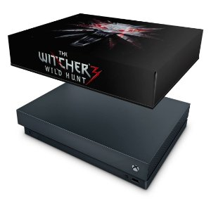 Xbox One X Capa Anti Poeira - The Witcher 3 #A