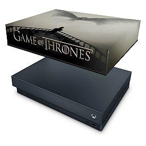 Xbox One X Capa Anti Poeira - Game of Thrones #B