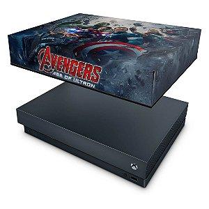 Xbox One X Capa Anti Poeira - Avengers - Age of Ultron