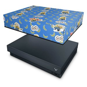 Xbox One X Capa Anti Poeira - Minions