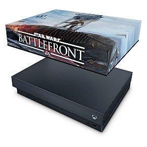 Xbox One X Capa Anti Poeira - Star Wars - Battlefront