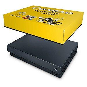 Xbox One X Capa Anti Poeira - Cuphead