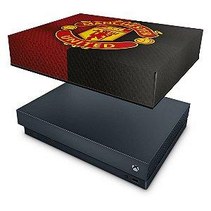 Xbox One X Capa Anti Poeira - Manchester United