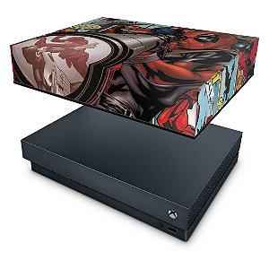 Xbox One X Capa Anti Poeira - Deadpool