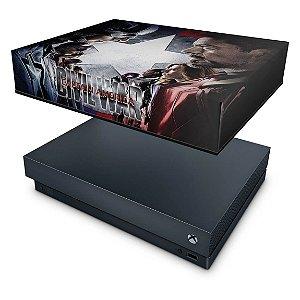 Xbox One X Capa Anti Poeira - Capitão America - Guerra Civil