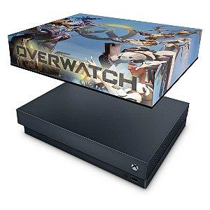 Xbox One X Capa Anti Poeira - Overwatch