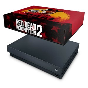 Xbox One X Capa Anti Poeira - Red Dead Redemption 2