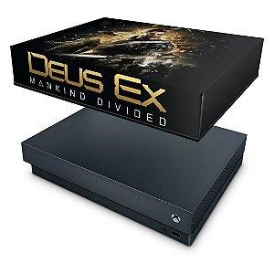 Xbox One X Capa Anti Poeira - Deus Ex: Mankind Divided